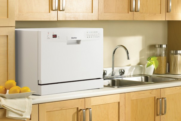 Danby Countertop Dishwasher Stock Image - Appliance Analysts