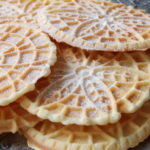 Pizzelle/Cannolli Stock Image