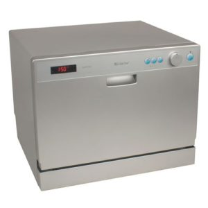 Edgestar Countertop Dishwasher Review : Image Caption: Looking sleek in a cool shade of grey, this model ticks ...
