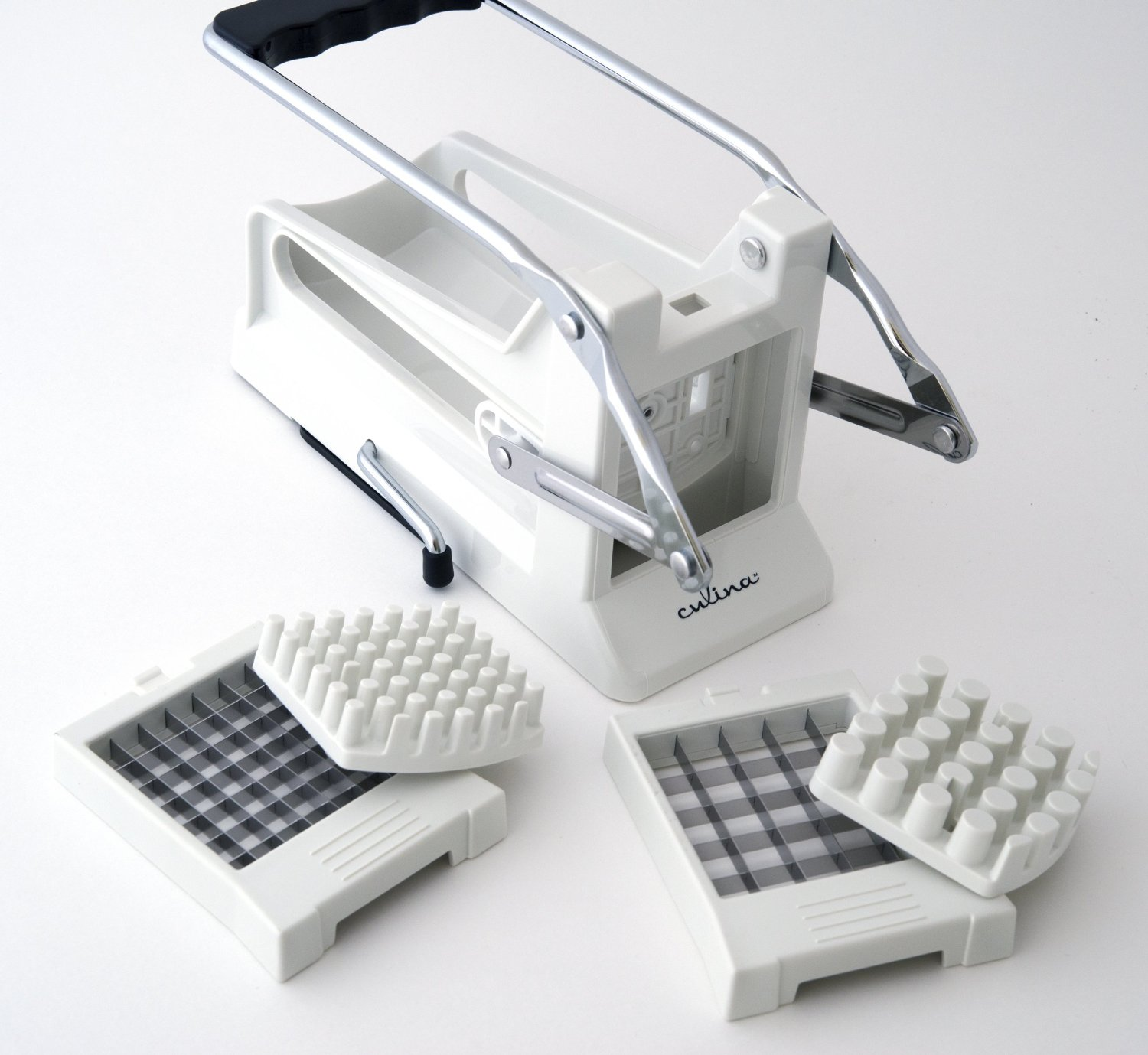 Cucina French Fry Cutter with Cutting Plates