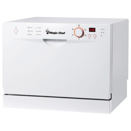MagicChef MCSCD6W3 Countertop Dishwasher