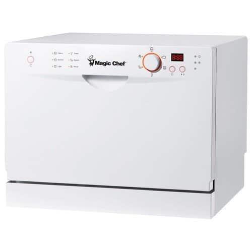 MagicChef MCSCD6W3 Countertop Dishwasher