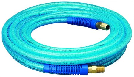Coiled up image of Amflo 12-25E polyurethane hose