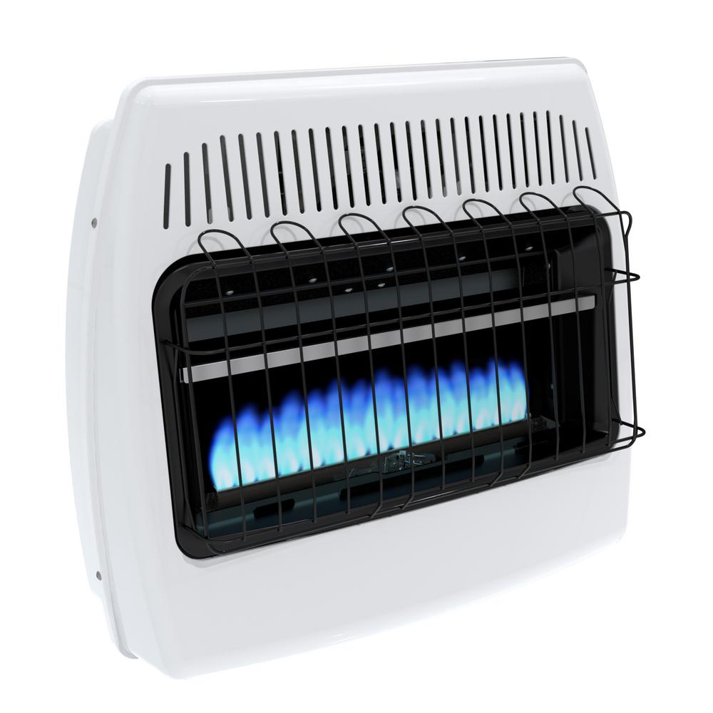 DynaGlo Blue Flame Wall Mounted Propane Heater