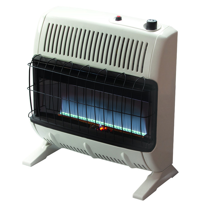 MrHeater Blue Flame Wall Mounted Propane Heater