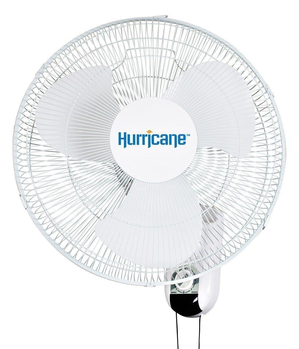 Hurricane Classic Oscillating Wall Mount Fan