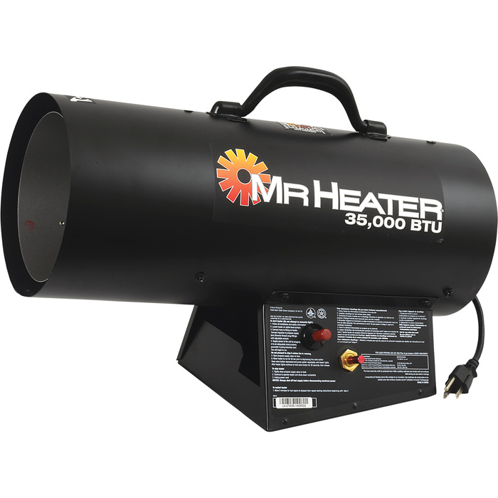 MrHeater Forced Air Liquid Propane Heater
