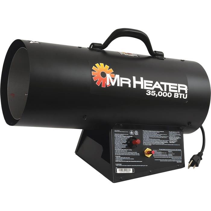 MrHeater Forced Air Liquid Propane Heater