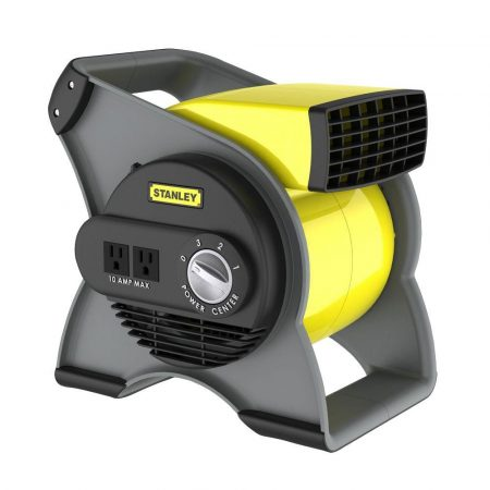 Stanley 655704 High Velocity Blower Fan, Yellow