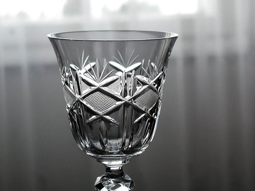 Crystal Port Glass