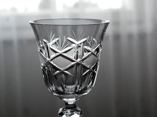 Crystal Port Glass