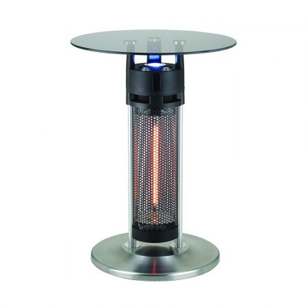 Best Disguised Patio Heater Ener G Freestanding Outdoor Electric Table