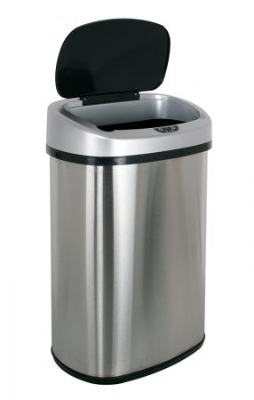 BestOffice Touch-free Sensor Automatic Trash Can