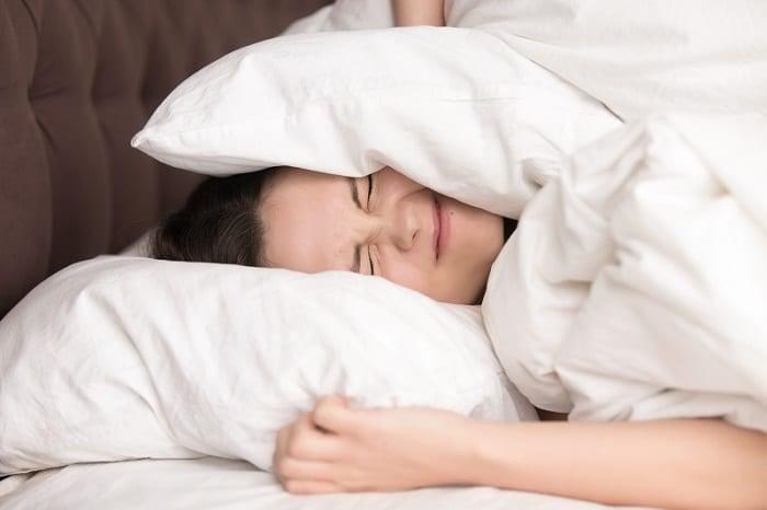Trouble Sleeping With Noisy Fan