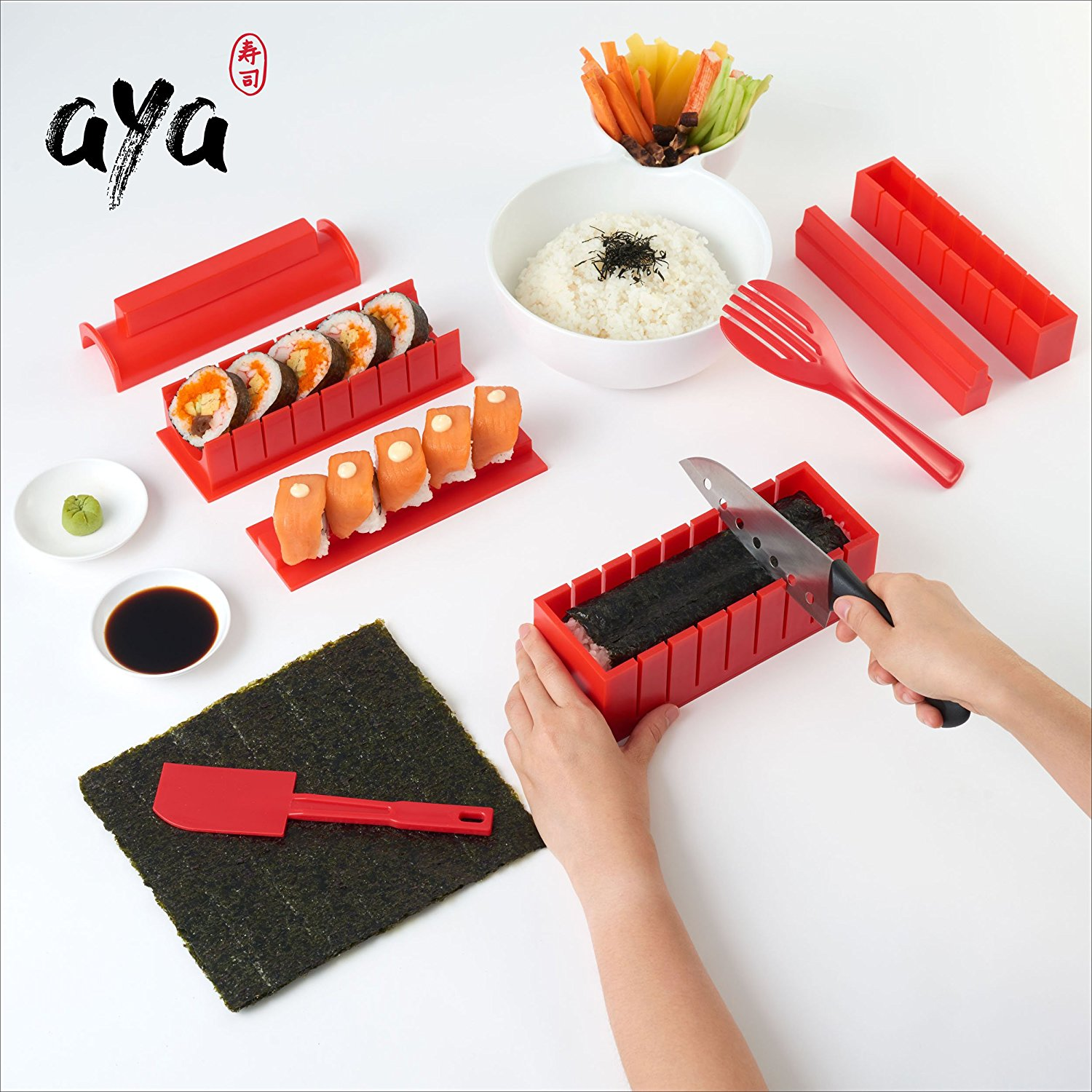 Sushi Making Kit - Original AYA Sushi Maker Deluxe