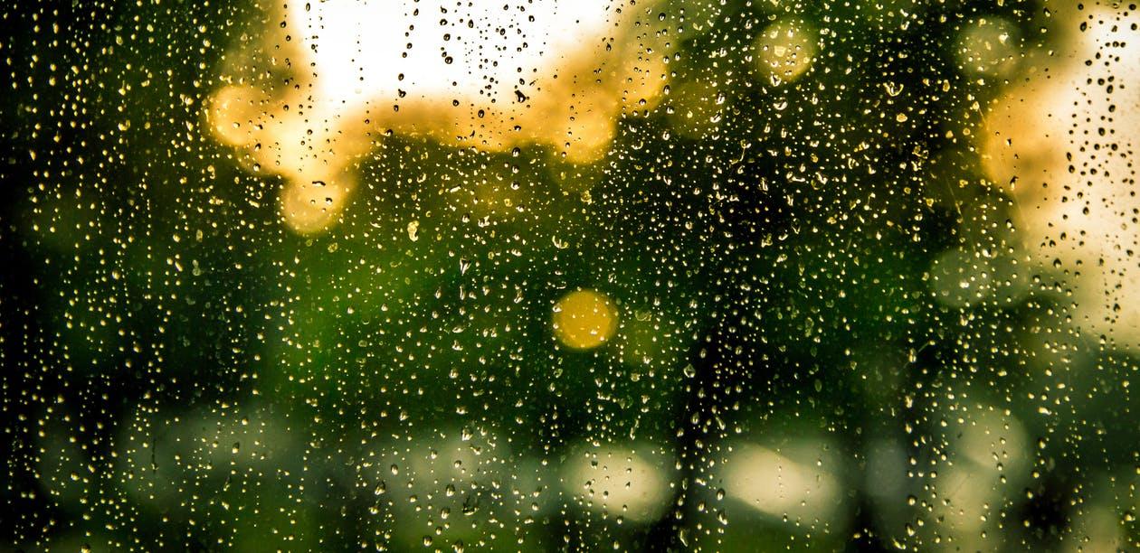 water-running-down-windows