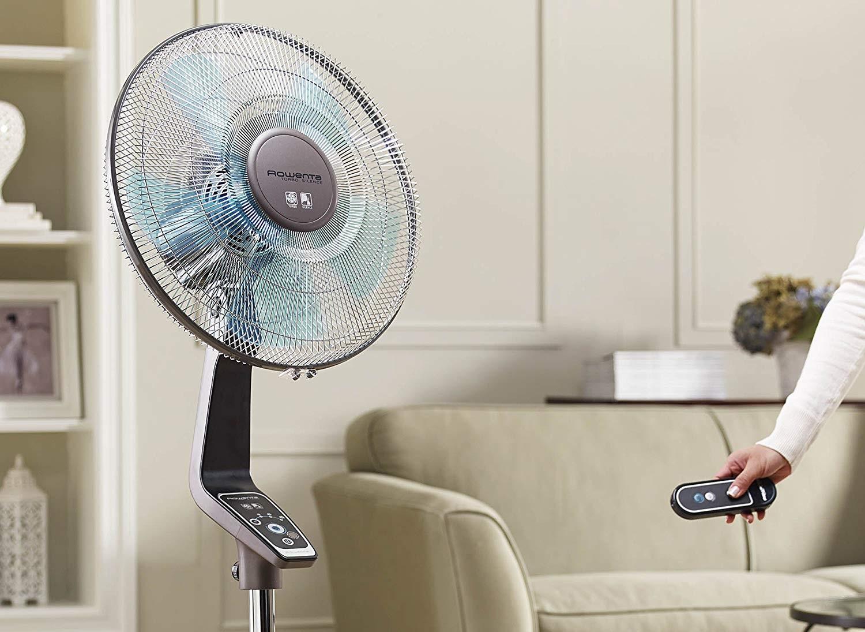 Rowenta Fan in Living Room