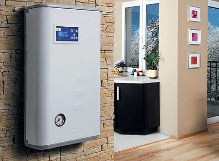 Electric Boiler on Wall