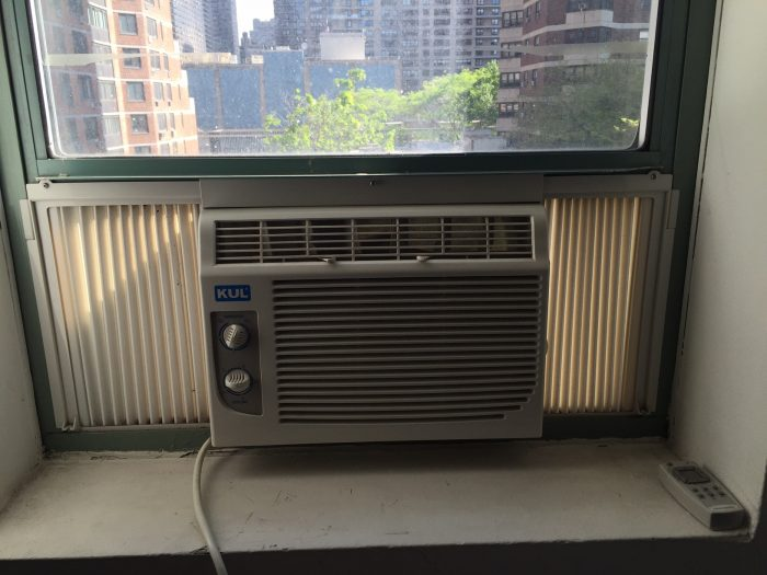 Air Conditioner Before Cleaning