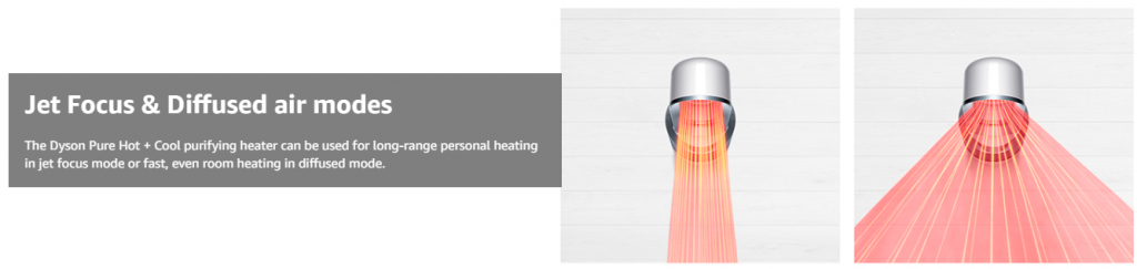 Dyson Heater and Cold Air Fan