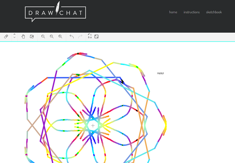 Draw Chat Example