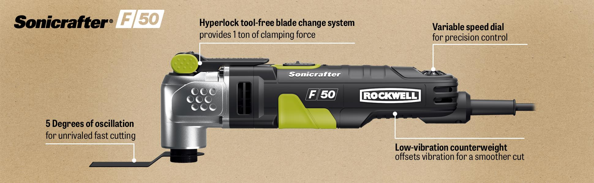 Rockwell Sonicrafter F80
