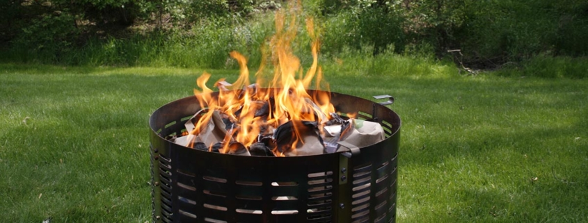 Burn Right Incinerator Barrel