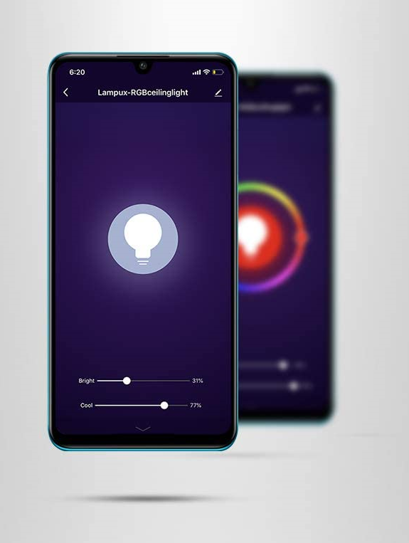 Smart Phone Lighting App