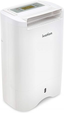 Ivation 13-Pint Small-Area Desiccant Dehumidifier