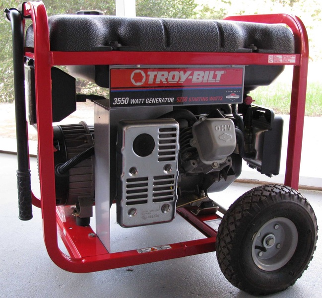 Portable generator that's yet to be grounded