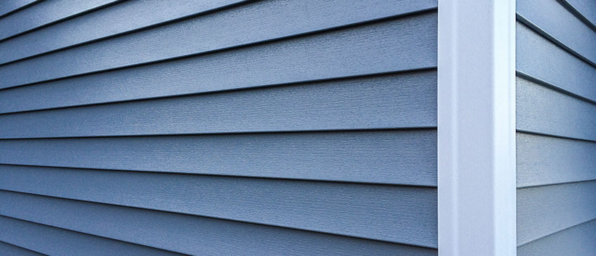 Vinyl Siding on the side of a home