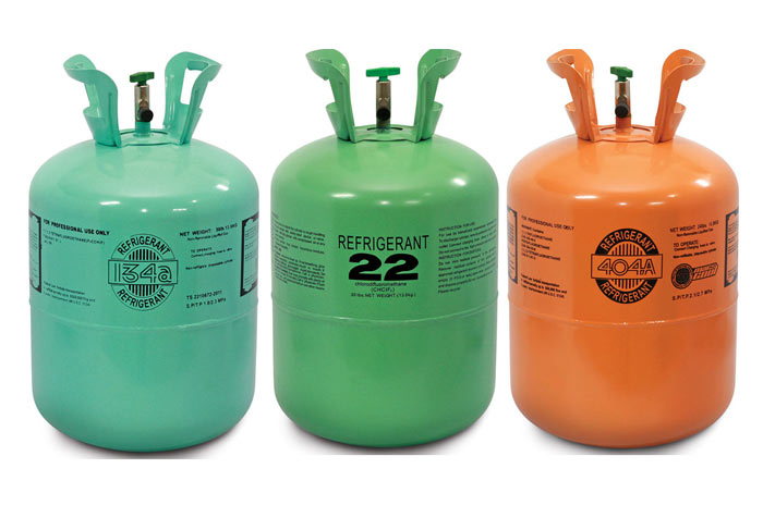 Freon containers