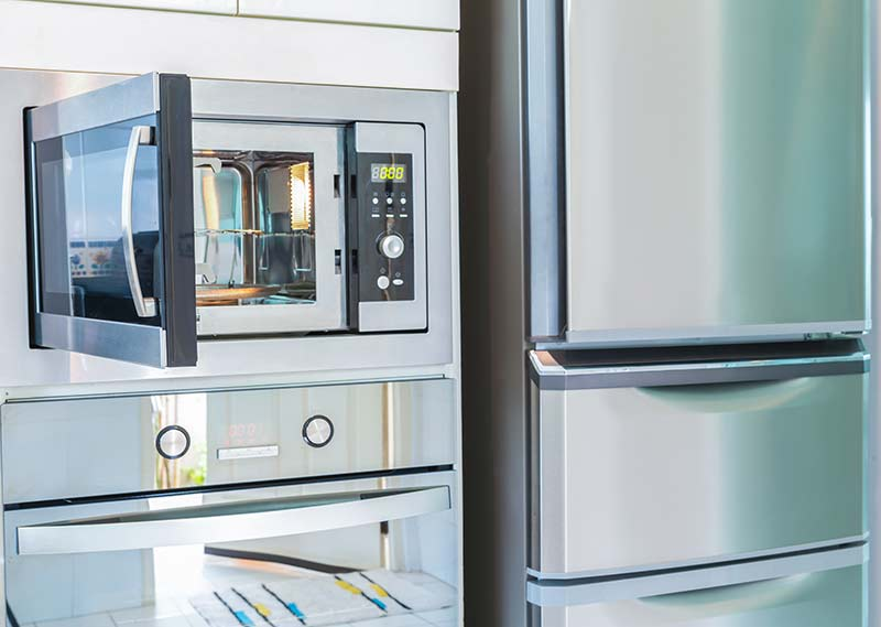 Open wall oven