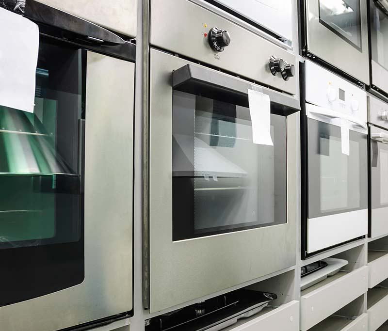 Various wall ovens