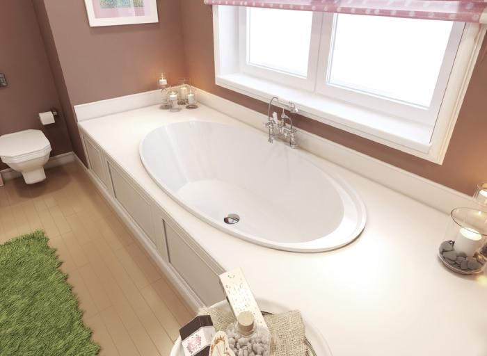 Drop-in bathtub