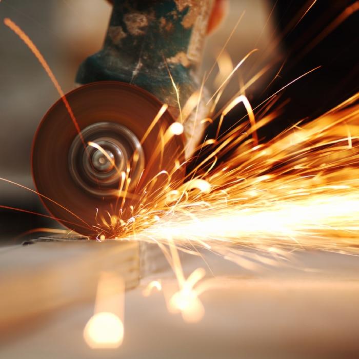 cut off tool cutting metal