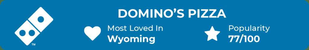 Dominos Pizza Popularity