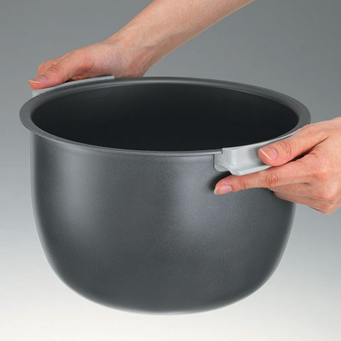 rice cooker with handle