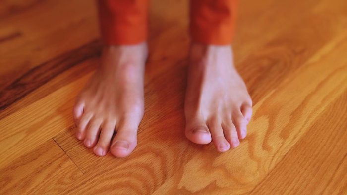 feet on floor