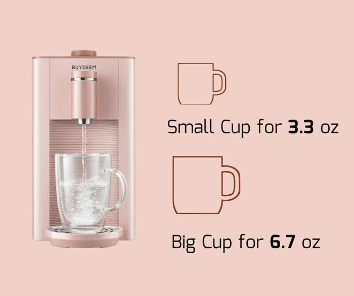 Buydeem cup sizes
