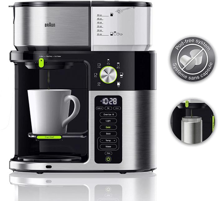 Braun coffee maker