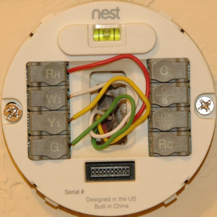 inside the nest thermostat