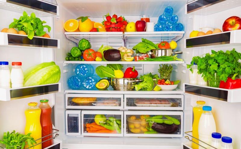Overloaded fridge