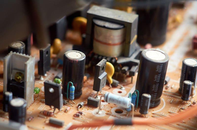 TV capacitors