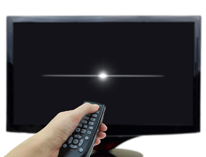 Turn off tv with remote