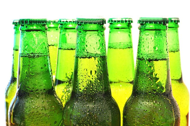 Cold bottles
