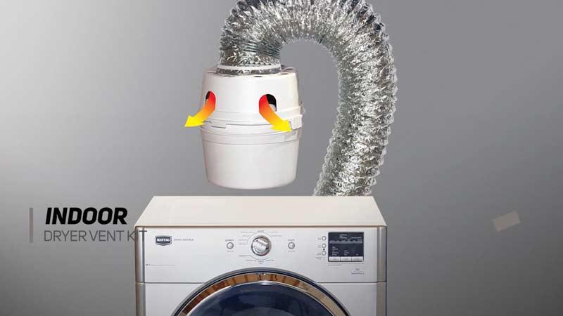 Dryer vent kit from HomeDepot