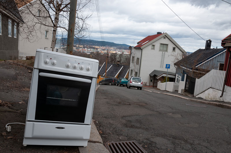 Oven disposal