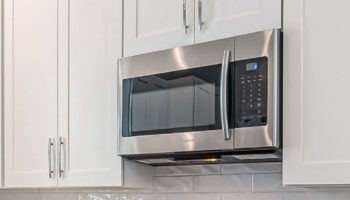 A modern microwave