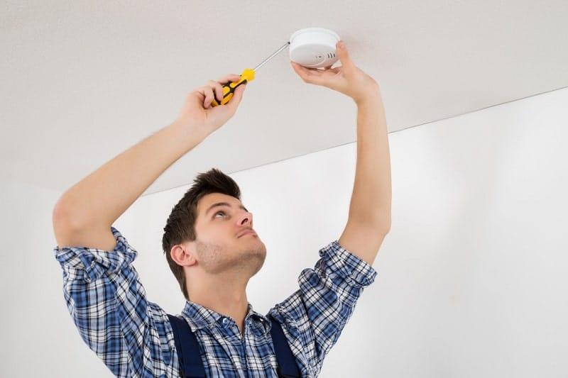 Replacing Smoke Alarm